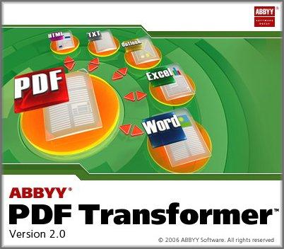 ABBYY PDF Transformer 2 crack