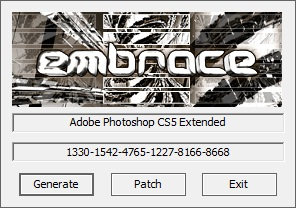 Adobe Photoshop CS5 KeyGen